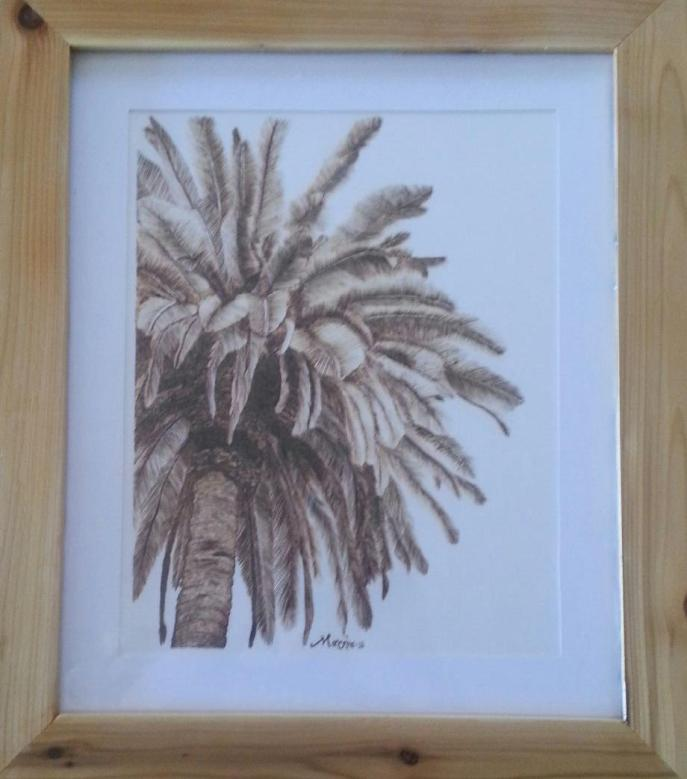 Palm Tree For More Details Click https://woodburningbymarsha.com/palm-tree/