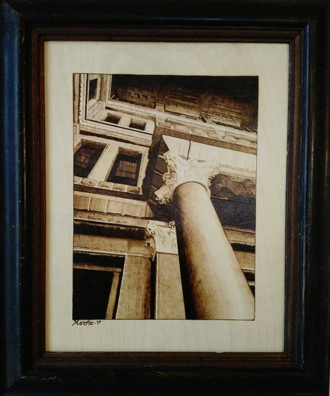 Austin Pillar in frame