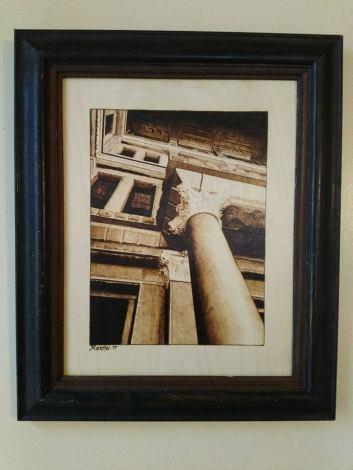 Austin Pillar in frame