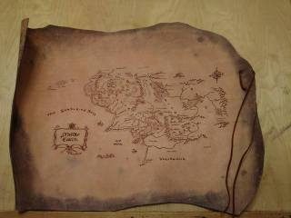 Custom Map of Middle Earth 01