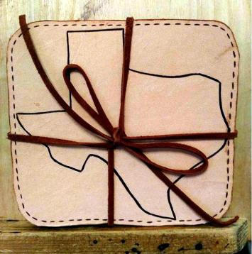 Leather Coasters For more Details Click https://woodburningbymarsha.com/leather-coasters/