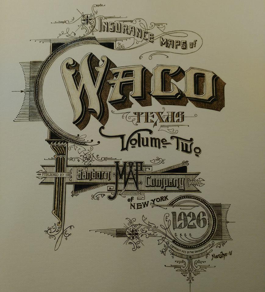 Sanborn map titlepage finished
