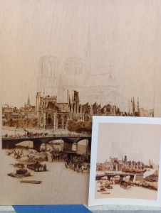 Notre Dame in Progress