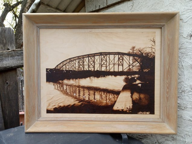 Railroad bridge frame choice